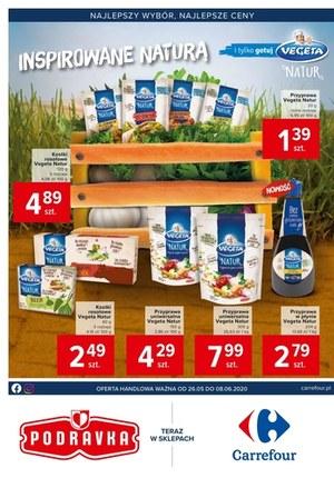 Gazetka promocyjna Carrefour - Carrefour inspirowany naturą!