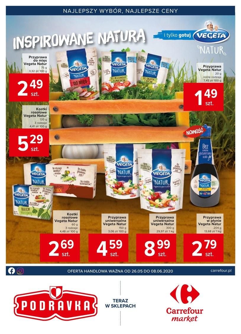 Gazetka promocyjna Carrefour Market - ważna od 26. 05. 2020 do 08. 06. 2020