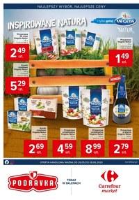 Gazetka promocyjna Carrefour Market - Carrefour Market inspirowany Naturą!  - ważna do 08-06-2020