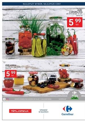 Gazetka promocyjna Carrefour - Zrób przetwory z Carrefour!