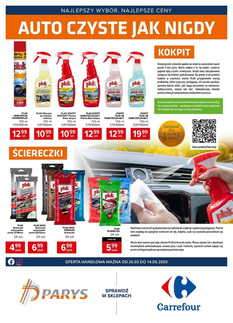 Gazetka promocyjna Carrefour - ważna od 26. 05. 2020 do 14. 06. 2020