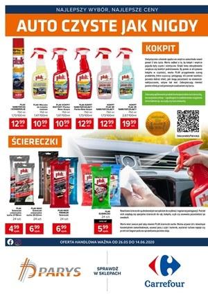 Gazetka promocyjna Carrefour - Czyste auto z Carrefour!