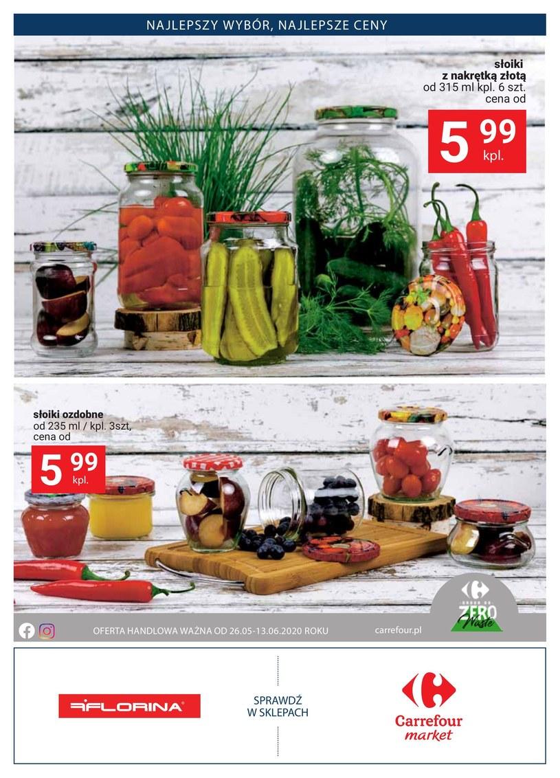 Gazetka promocyjna Carrefour Market - ważna od 26. 05. 2020 do 13. 06. 2020