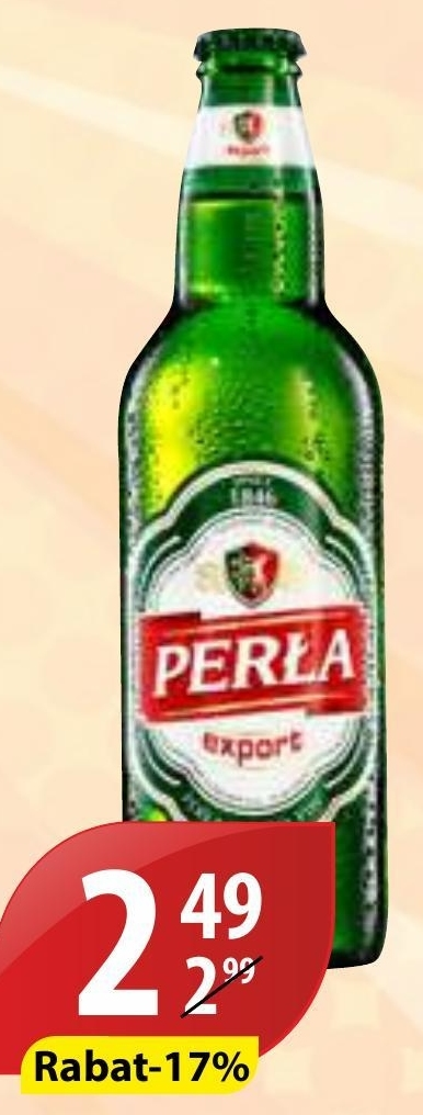 Piwo Perła niska cena