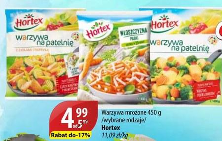 Warzywa mrożone Hortex