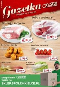 Gazetka promocyjna Społem Kielce - Oferta Społem Kielce - ważna do 06-06-2020