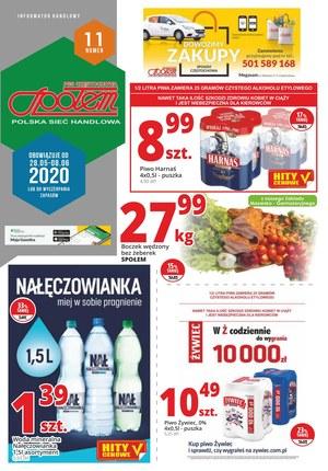 Gazetka promocyjna PSS Społem Częstochowa - Promocje w Społem Częstochowa