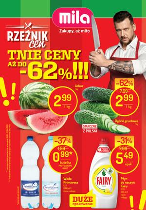 Gazetka promocyjna MILA - Specjały w MILA!