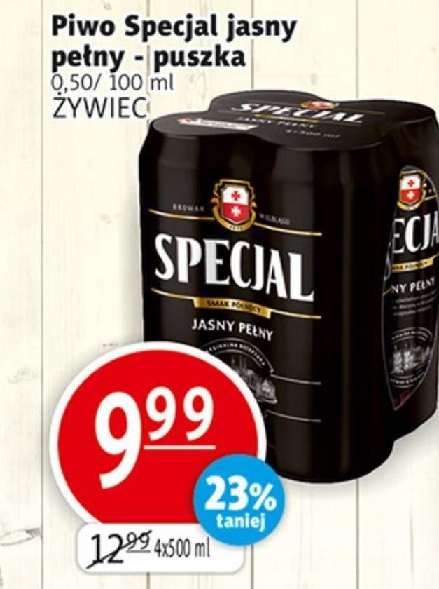 Piwo Specjal niska cena