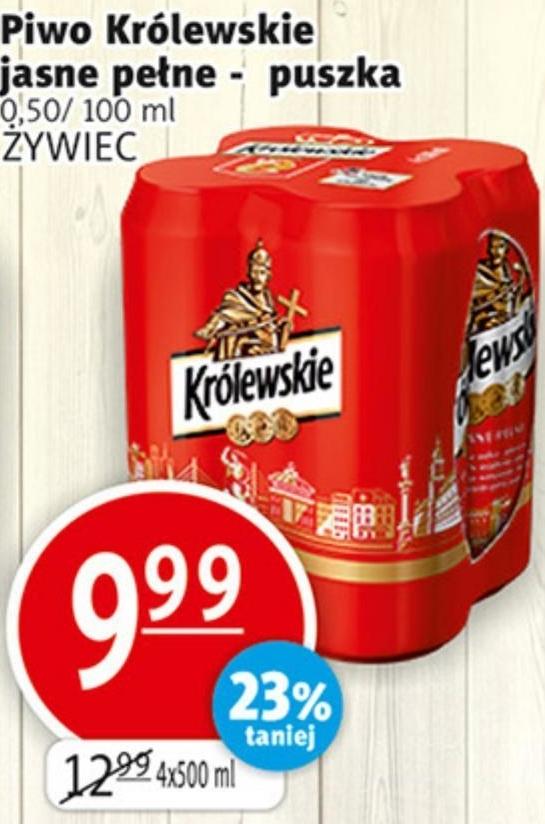 Piwo Królewskie niska cena