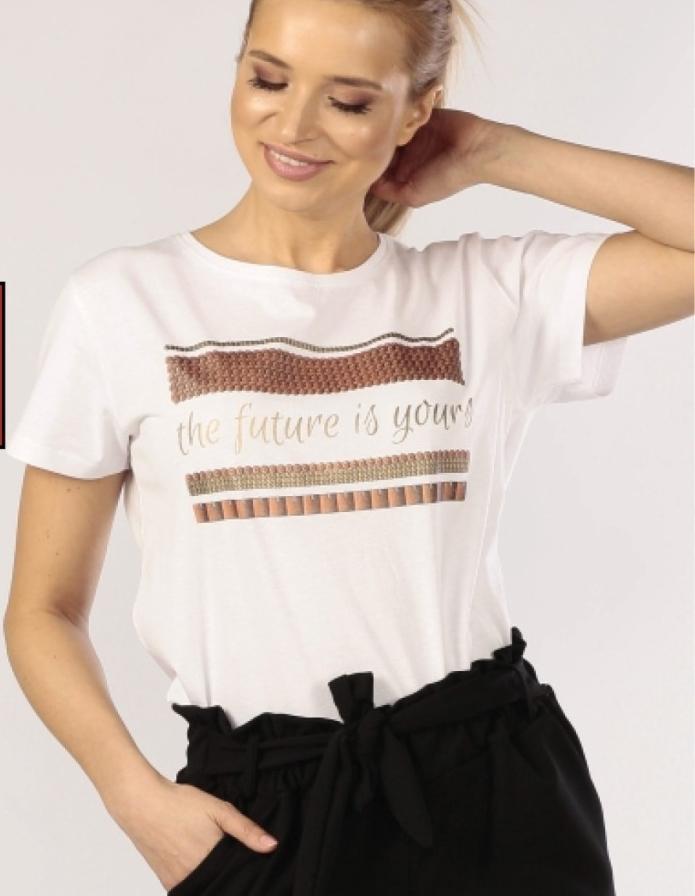 T-shirt damski Textil Market niska cena