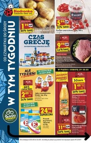 Greckie smaki w Biedronce