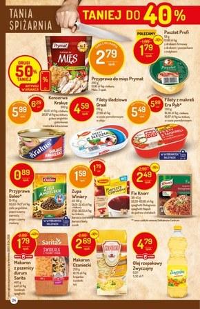 Promocje w sklepach Delikatesy Centrum