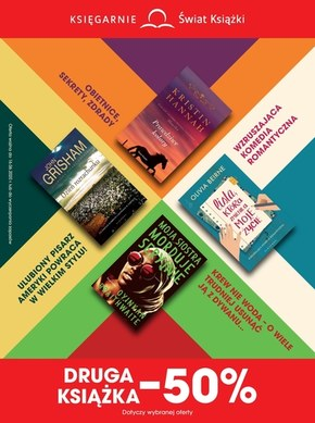 Duże promocje w księgarniach Świat Książki