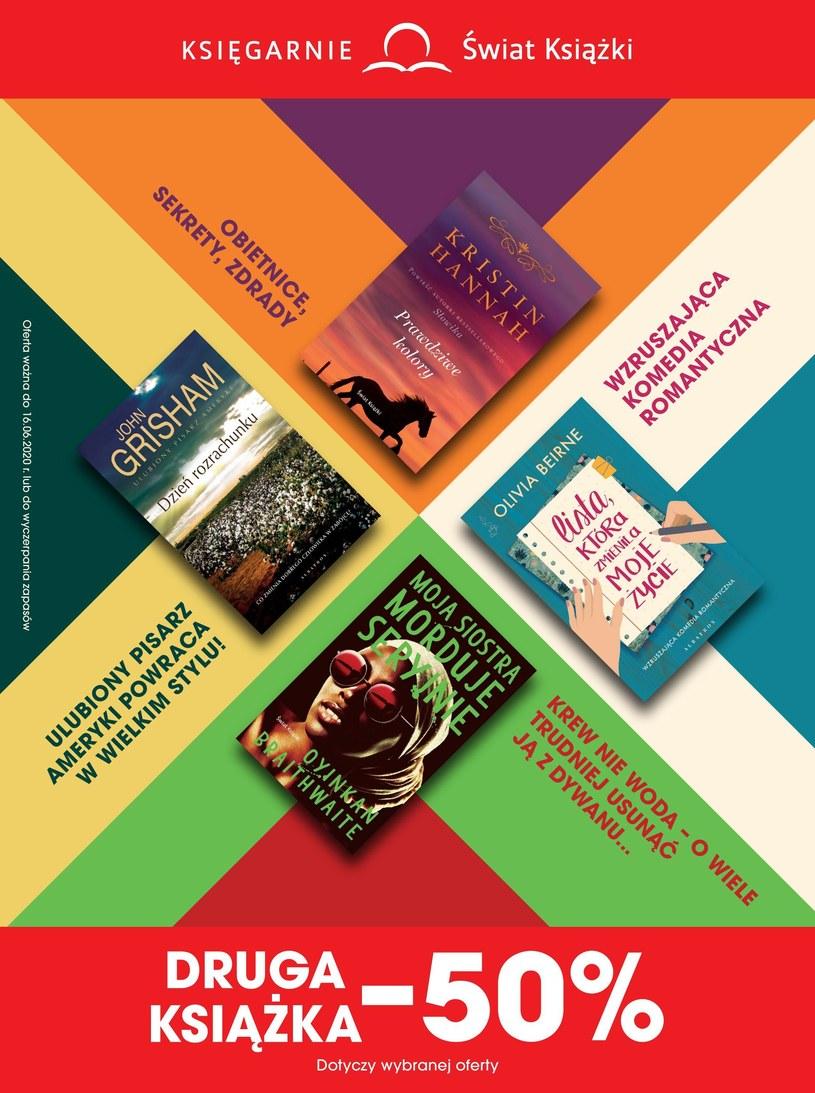 Gazetka promocyjna Księgarnie Świat Książki - wygasła 24 dni temu