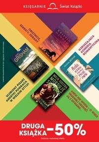 Gazetka promocyjna Księgarnie Świat Książki - Duże promocje w księgarniach Świat Książki - ważna do 16-06-2020