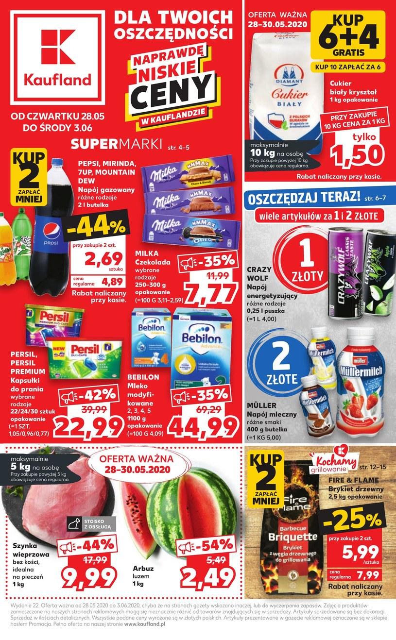Gazetka promocyjna Kaufland - ważna od 28. 05. 2020 do 03. 06. 2020