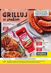 Gazetka promocyjna Makro Cash&Carry - Makro - grilluj ze smakiem - ważna do 08-06-2020