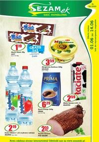 Gazetka promocyjna Sezamek - Promocje w sklepach Sezamek - ważna do 14-06-2020