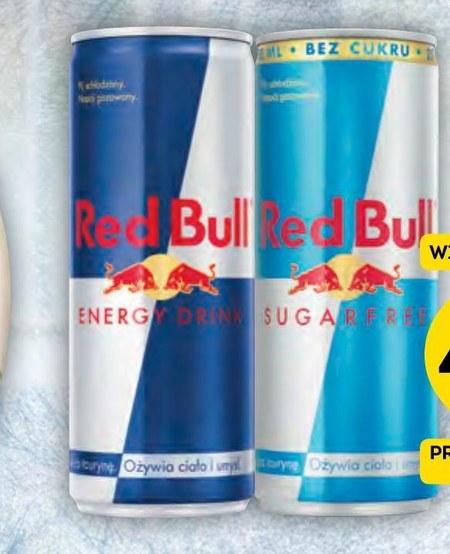 Napój energetyczny Red Bull