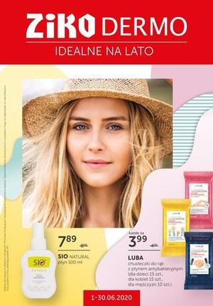 Gazetka promocyjna Ziko Dermo  - Produkty idealne na lato w Ziko