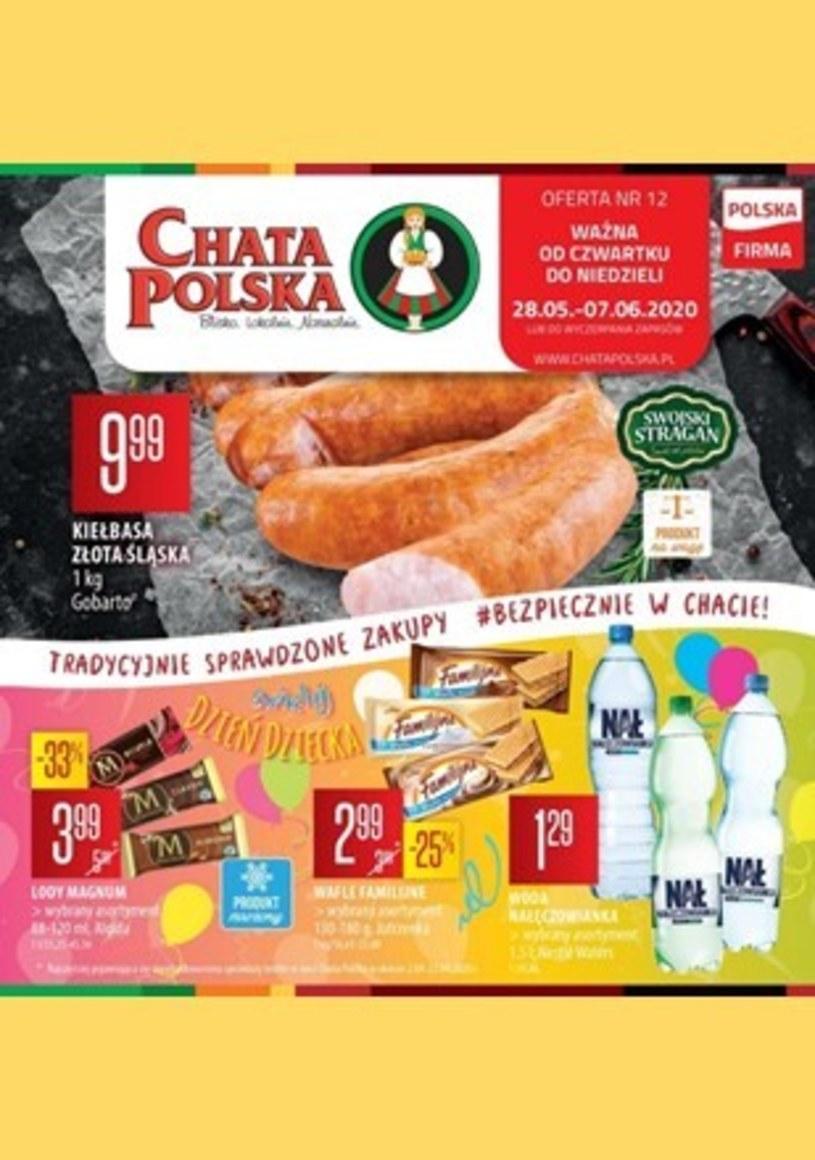 Gazetka promocyjna Chata Polska - ważna od 28. 05. 2020 do 07. 06. 2020