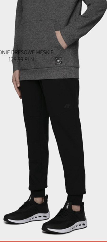 Spodnie dresowe męskie 4F