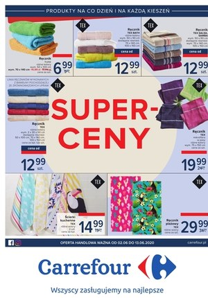 Gazetka promocyjna Carrefour - Super ceny w Carrefour!