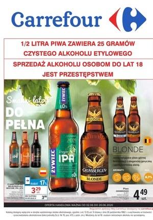 Gazetka promocyjna Carrefour - Piwo w promocyjnej cenie w Carrefour