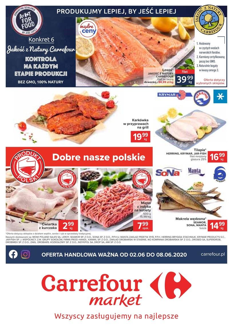Gazetka promocyjna Carrefour Market - ważna od 02. 06. 2020 do 20. 06. 2020