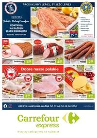 Gazetka promocyjna Carrefour Express - Spożywcze artykuły w Carrefour Express! - ważna do 08-06-2020