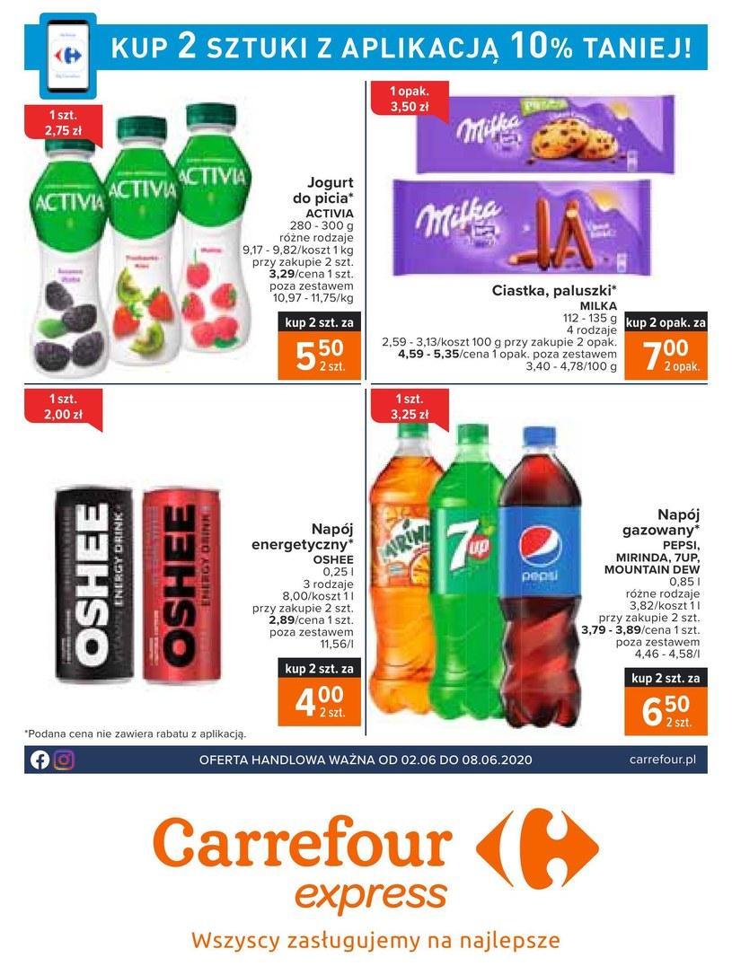 Gazetka promocyjna Carrefour Express - ważna od 02. 06. 2020 do 08. 06. 2020