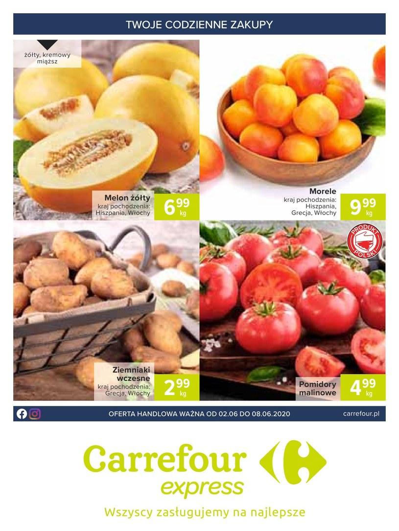 Carrefour Express: 4 gazetki