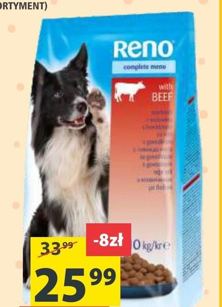Karma dla psa Reno