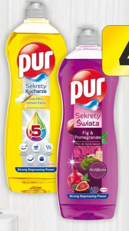 Płyn do mycia naczyń Pur