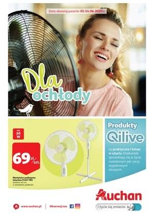 Gazetka promocyjna Auchan Hipermarket - Produkty dla ochłody w Auchan