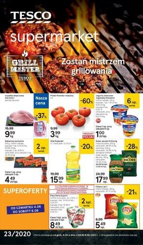 Zostań mistrzem grillowania - Tesco Supermarket