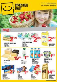 Gazetka promocyjna Uśmiechnięte zakupy - Oferta handlowa Uśmiechnięte Zakupy - ważna do 14-06-2020