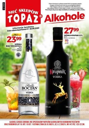 Gazetka promocyjna Topaz - Katalog alkoholi Topaz
