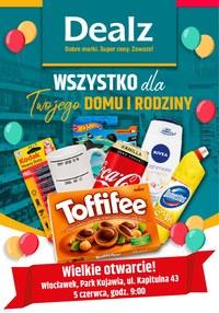 Gazetka promocyjna Dealz - Wielkie otwarcie Dealz Włocławek  - ważna do 05-06-2020