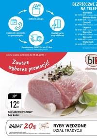 Gazetka promocyjna bi1 - Zawsze wyborne promocje w Bi1 - ważna do 09-06-2020
