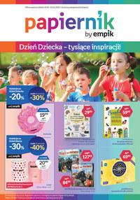 Gazetka promocyjna Papiernik by Empik - Dzień dziecka w Papierniku - ważna do 02-07-2020