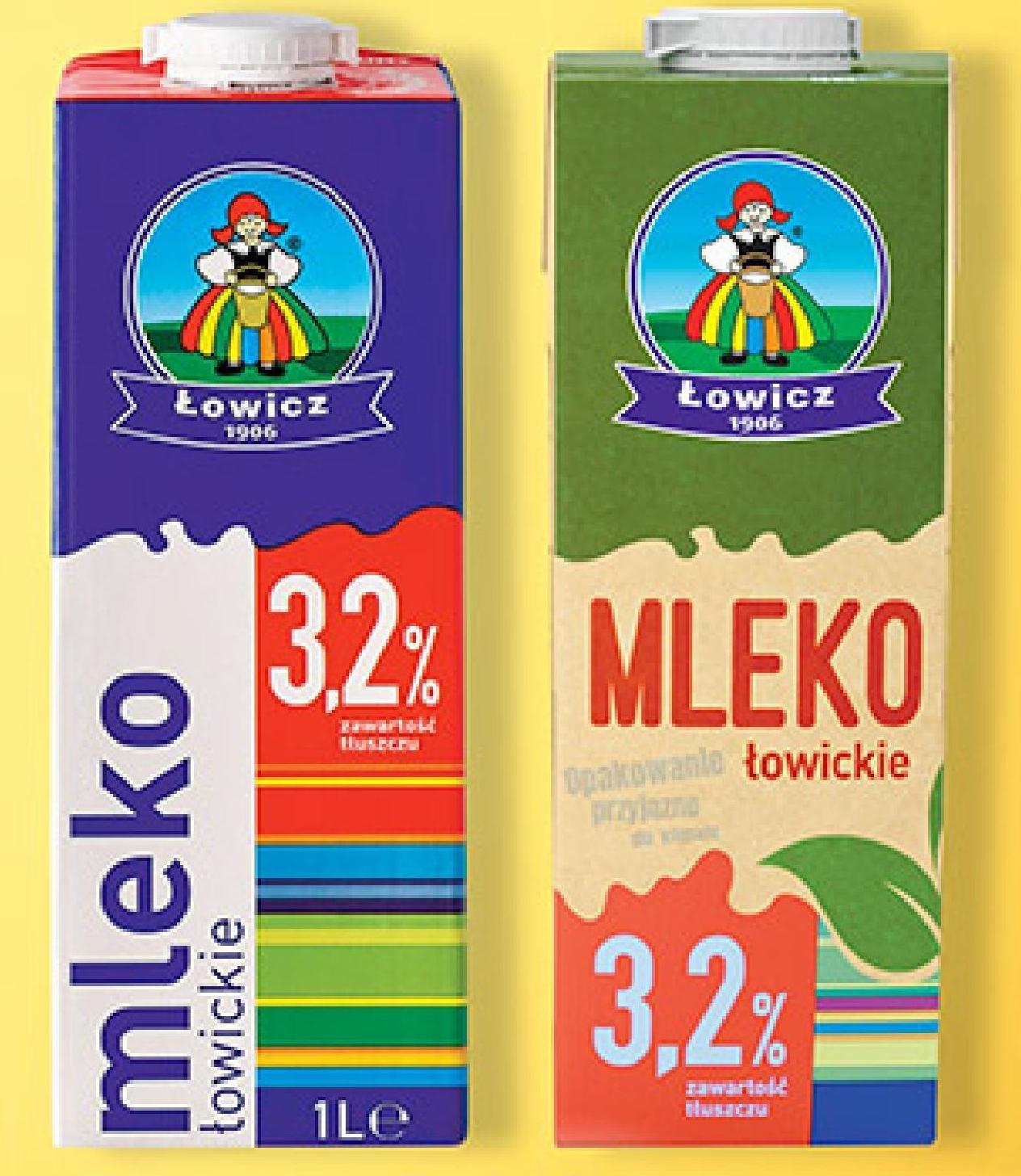 Mleko Łowicz niska cena