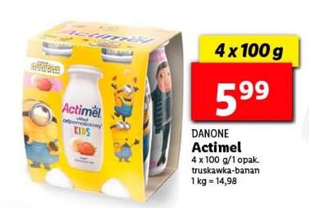 Napój mleczny Danone