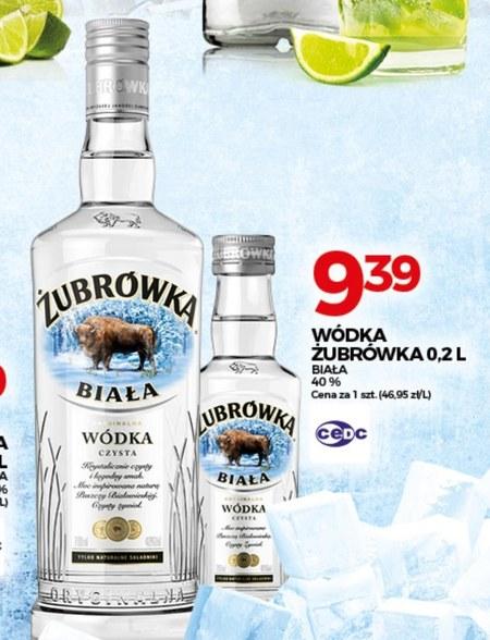 Wódka Żubrówka