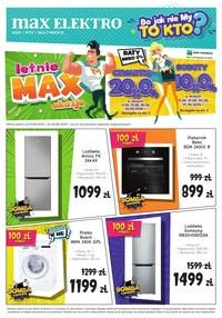 Gazetka promocyjna Max Elektro - Letnie okazje Max Elektro - ważna do 30-06-2020