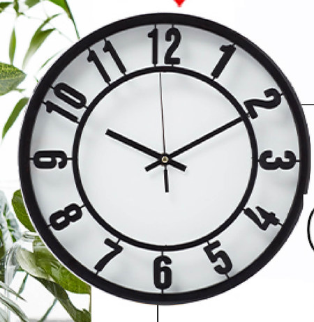 Zegar ścienny Pepco