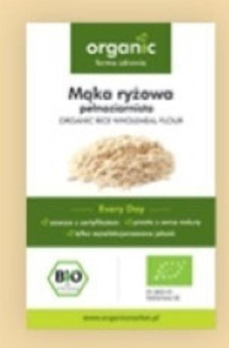 Mąka ryżowa Organic
