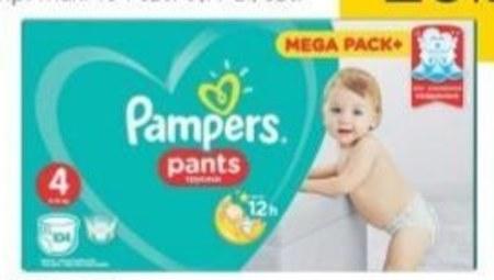 Pieluchomajtki Pampers