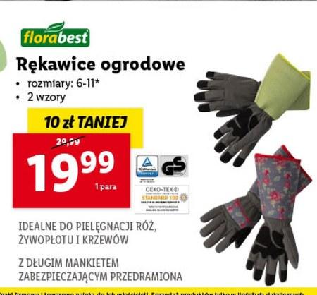 Rękawice ogrodowe Florabest
